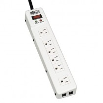 Protect It Surge Protector 6 Right Angle Outlets 15 ft Cord 1340 Joules Tel Modem Protection