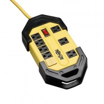 Power It 8 Outlet Safety Power Strip 12 ft Cord GFCI Plug