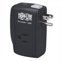 Protect It 2 Outlet Portable Surge Protector Direct Plug In 1050 Joules Ethernet Protection