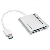 USB 3.0 SuperSpeed Multi Drive Memory Card Reader Writer Aluminum Case Microsoft Surface