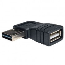 Universal Reversible USB 2.0 High Speed Adapter Reversible A to Right Angle A Male Female