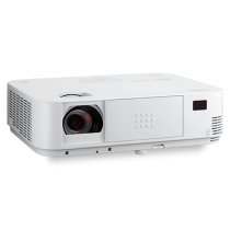 NEC 3600-Lumen XGA Projector with Dual HDMI Inputs and 1.7X optical zoom