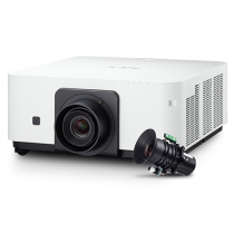 NEC 6000-lumen Advanced Professional Installation Laser Projector w/Lens