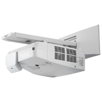 NEC 3600-Lumen Interactive Ultra Short Throw Projector w/ Wall Mount